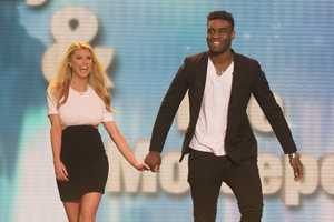 Model actress Charlotte McKinney is teamed up with Keo Motsepe.