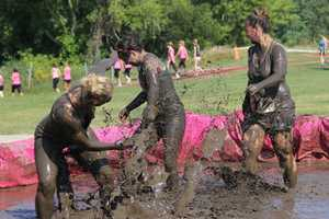 The 2015 Dirty Girl Mud Run was held in Waukesha at the fairgrounds.