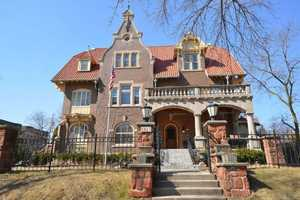 The Gustav J. A. Trostel Mansion is a premiere East side home just 1 block from Lake Michigan.