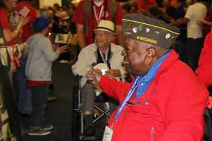 This was the 29th Honor Flight out of Milwaukee.