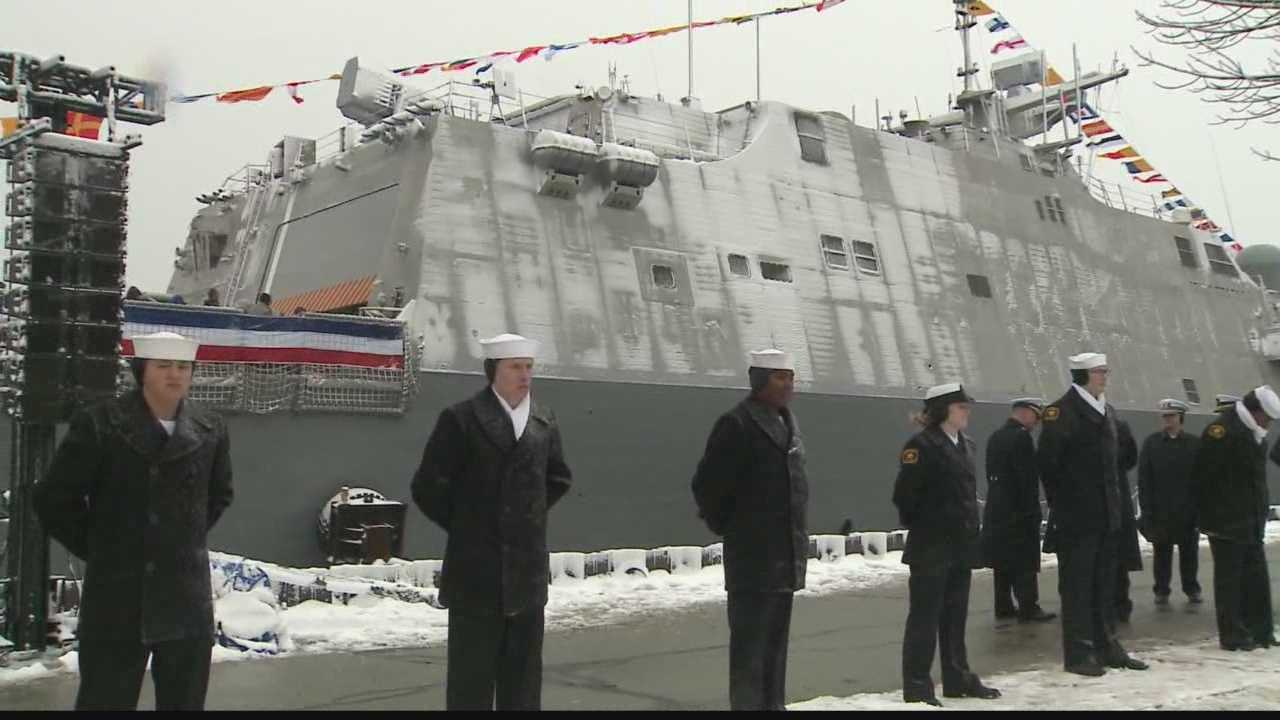 It is the fifth Naval vessel bearing the name Milwaukee