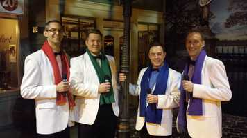 "The ""Guyz"" performance was at the Milwaukee Public Museum.  You can see them at the Waukesha Civic Theater Dec 31-Jan2."