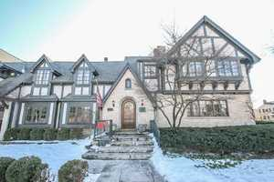 Smashing classic tudor in sought-after Klode Park neighborhood. This home boasts elegant detailing, high end finishes and stunning architectural detail throughout.