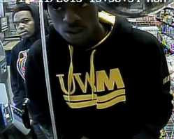 West Allis police say they are still looking for four people wanted in connection with an armed robbery, theft and passing counterfeit money at a business at 76th Street and Lincoln Avenue.