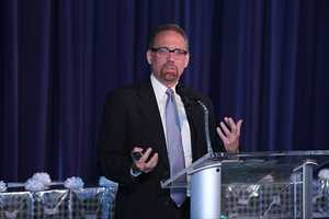 Dr. Daniel J. Myers, the provost of Marquette University, was the keynote speaker.