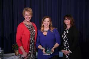 Heidi Reid (center) of Humboldt Park School was the Top Teacher of March 2016.