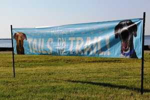 Tails on the Trail on the Trail benefits the Wisconsin Humane Society.
