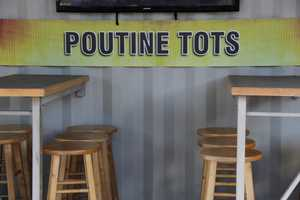 Up for tasting today for the WISN crew... Poutine Tots.