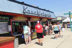 Knucklehead also has music throughout the fair at their location.