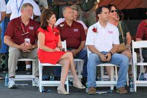 The Governor and Lieutenant Governor, among other dignitaries were on hand for the ceremony.
