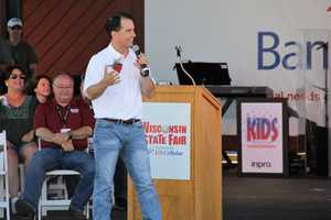 Governor Scott Walker spoke.