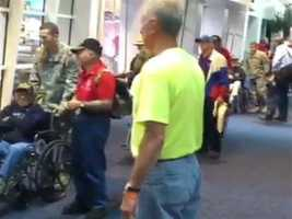 12 News This Morning's Patricks Paolantonio is boarding an honor flight full of Wisconsin WWII veterans. Together, they will see their memorial for the first time.