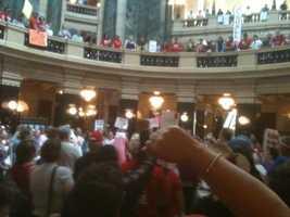 WISN.com-----Original Message-----From: Wainscott, Kent J Sent: Tuesday, June 14, 2011 12:54 PMTo: WISN Staff PhotosSubject: Protest slideshow #1