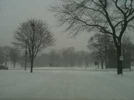 Snow in Milwaukee