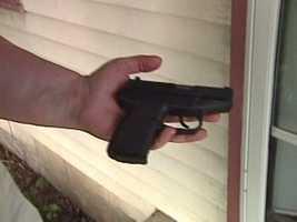 GUN AT CHURCH