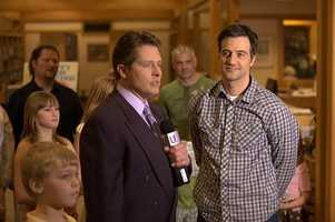 12 News anchor Terry Sater plays a local TV reporter in the film 'Feed the Fish.'