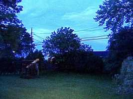 Storms knocked out power in several communities.