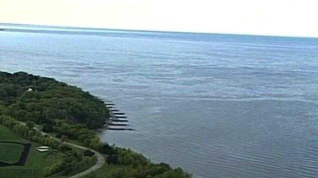 Lake Michigan Shoreline In St. Francis - 23600566