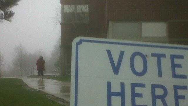 Rain On Election Day - 23065976