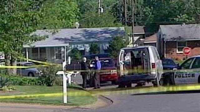 Scene of Whitis death investigation