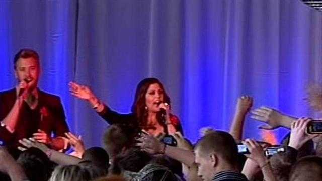 Lady Antebellum benefit concert for Henryville held