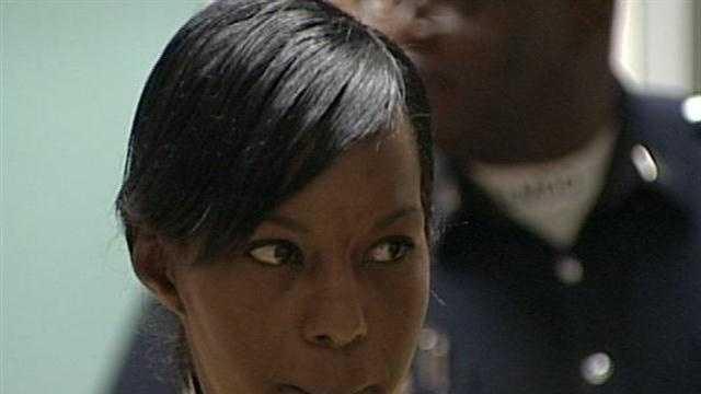 Kendra Wilson in court