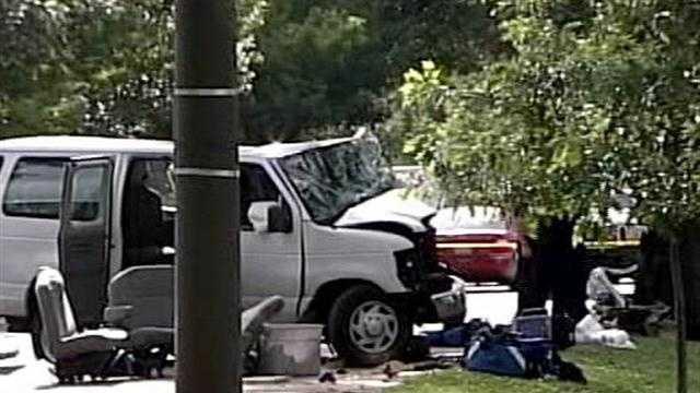 1 killed, several injured in crash involving day care van