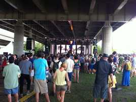 WLKY's Steve Tellier was at Forecastle and took some pictures to share