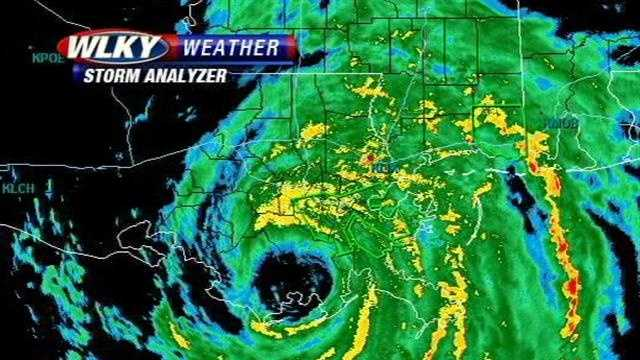 Hurricane Issac Wednesday