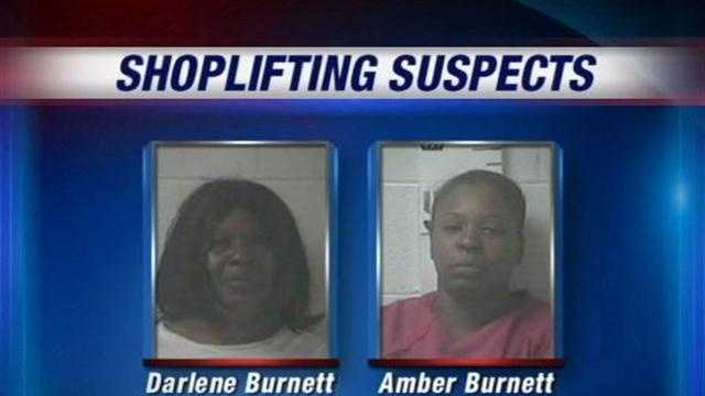 Mother, daughter accused of running shoplifting ring