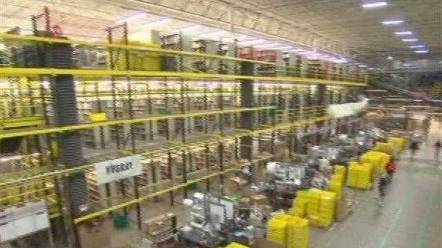 Indiana's fifth Amazon distribution center is now open in Jeffersonville, bringing with it new jobs, but also increased traffic.
