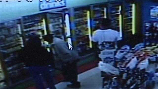 Store surveillance video helps Shively police catch a suspect wanted for stealing thousands of dollars in cash.