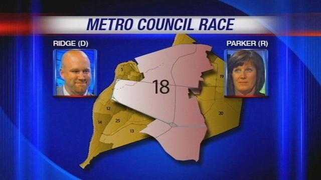 Parker, Ridge battle for open Metro Council District 18 seat