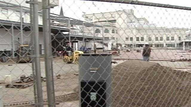 Big changes are being made at Churchill Downs, and for the first time an inside look was shown Friday at what's happening at the legendary race track.