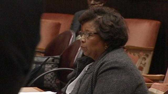 Embattled councilwoman abruptly leaves ethics hearing