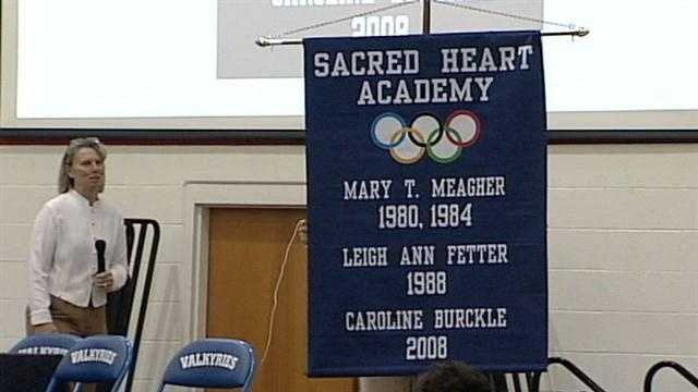 Sacred Heart Academy has its share of state championships, but the latest banner to hang in the school's gym celebrates an international accomplishment.