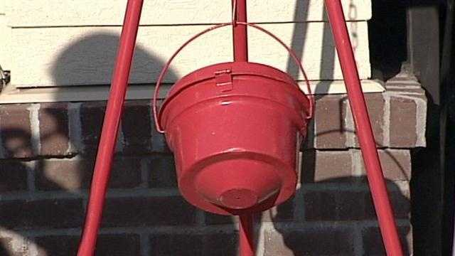 Salvation Army's Red Kettle Campaign officially underway