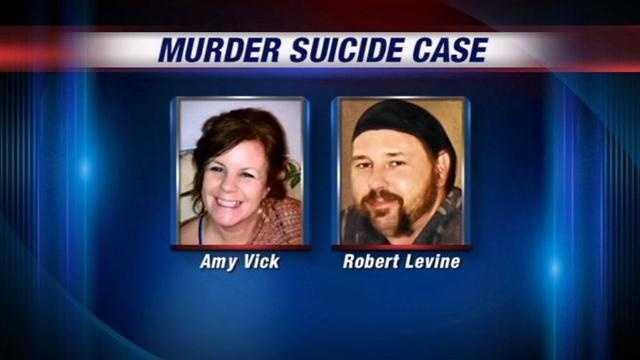 Last Wednesday, Robert Levine killed his girlfriend before turning the gun on himself.