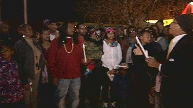 A Louisville man gunned down on his way home from work is remembered less than 12 hours after his death.