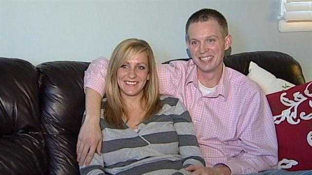 Couple expecting twins gets big surprise