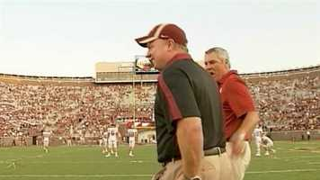 Mark Stoops was the defensive coordinator at Florida State University for three seasons, inheriting a unit ranked 108th in the NCAA in total defense and turning it into one of the nation's best.