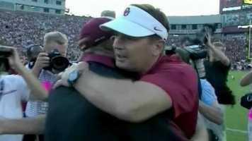 Mark and Mike are also brothers of Oklahoma head coach Bob Stoops, with Mark being the youngest of the three.