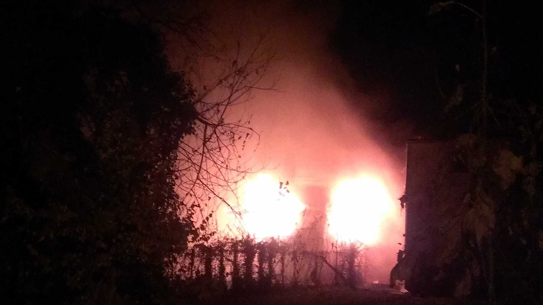 Arson investigators trying to determine cause of Old Louisville fire