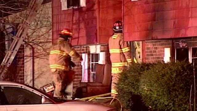 One person is rushed to the hospital after an early-morning fire in Okolona.