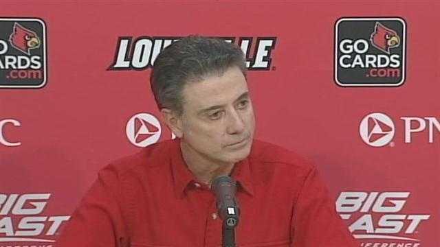 University of Louisville head coach Rick Pitino