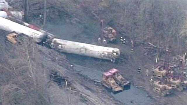 WLKY Investigates: Louisville's railroad chemical trail