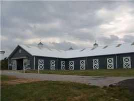 Beautifully designed and well-maintained stables.