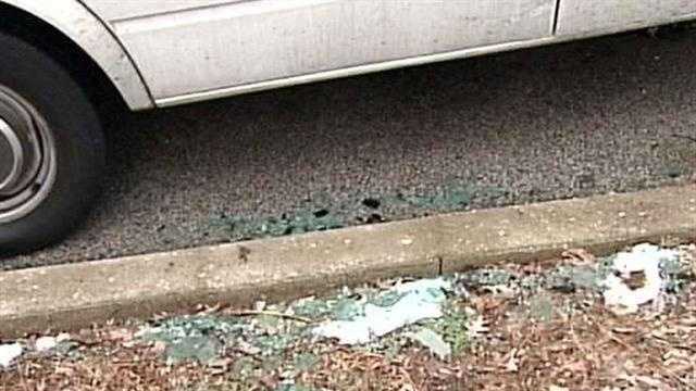 Van damaged in New Year's Eve gunfire in Iroquois Park area