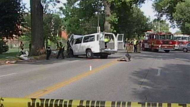 No criminal charges filed in fatal day care van crash