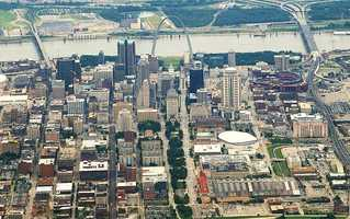 8. St. Louis, Missouri